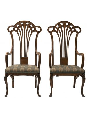 Pair Of Liberty Armchairs by Anonymous - Design Furniture