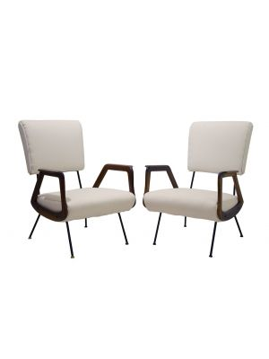 Pair of Armchairs - Design Objects and Furniture