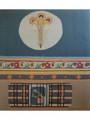 Uccello oltre la sbarra by Max Ernst - Surrealism