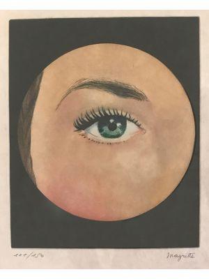 L'Oeil by René Magritte - Surrealism