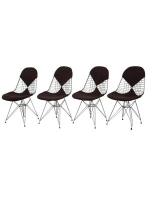 DKR/2 Wire Chairs by Charles and Ray Eames - Design Furniture