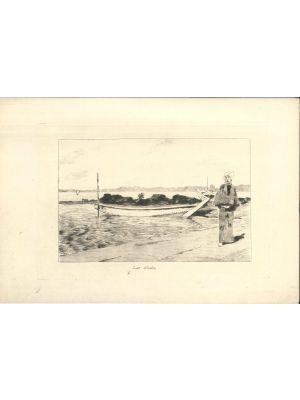 Lac d'Imba by Georges Bigot - Modern Artwork