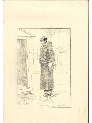 Gendarme by Georges Bigot - Modern Artwork