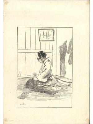 Tailleur by Georges Ferdinand Bigot - Modern Artwork