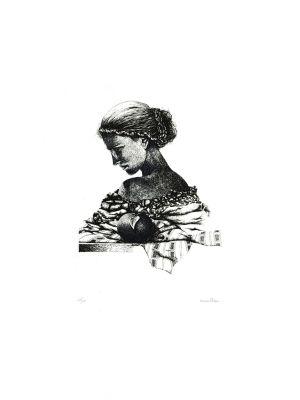 Woman by Oscar Pelosi - Contemporary Artwork