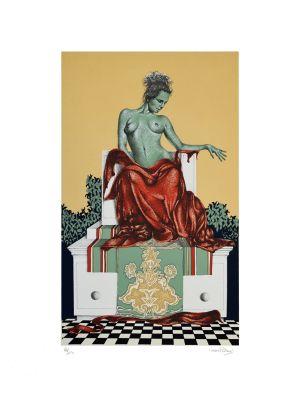 The Diva by Oscar Pelosi - Contemporary Artwork