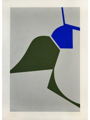 Mediterranean Abstract by Renato Barisani - Contemporary Artwork
