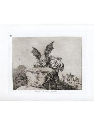 Contra El Bien General by Francisco Goya - Old Masters