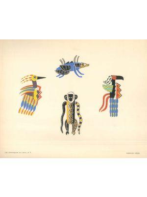 La Creation Du Monde by Fernand Léger - Modern Artwork