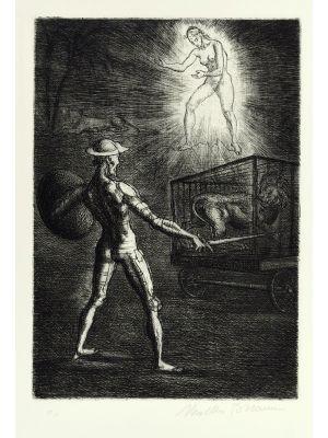 Original print by Marcello Tommasi - Contemporary artwork