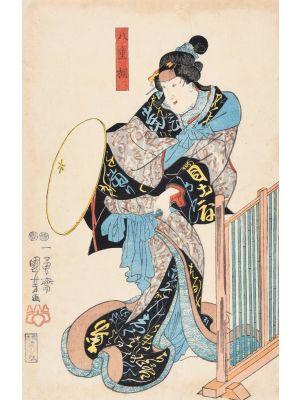 Kabuki Actor by Utagawa Kuniyoshi - Modern Artwork