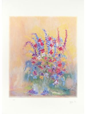Les Fleures by Martine Goeyens - Contemporary artwork