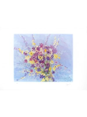 Bouquet by Martine Goeyens - Contemporary artwork