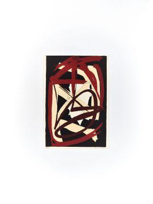 Abstract Composition by Luigi Montanarini - Contemporary artwork