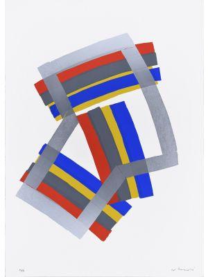 Silver Composition by Luigi Montanarini - Contemporary artwork