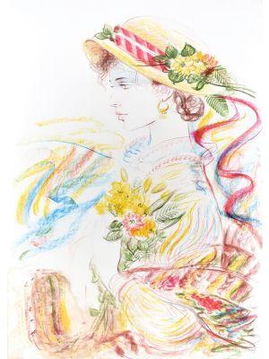Romantic Woman by Jovan Vulic - Contemporary artwork