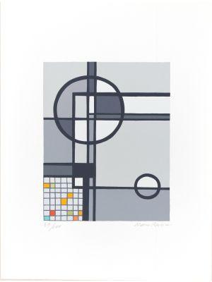 Canzone di Pomeriggio by Mario Radice - Contemporary artwork