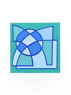 De Profundis Clamavi by Mario Radice - Contemporary artwork