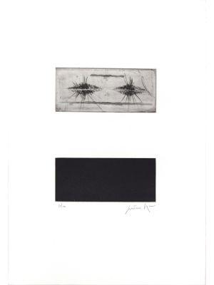 Tripartite composition by Cesare Peverelli - Contemporary artwork