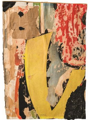 Untitled by Mimmo Rotella - Contemporary Artwork