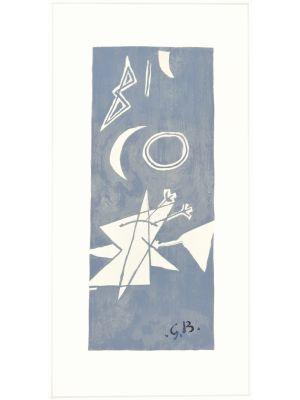 Ciel Gris II by George Braque - Contemporary Artwork