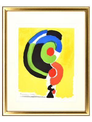 Contraste De Formes by Sonia Delaunay - Contemporary Artwork