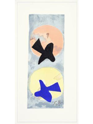 Soleil Et Lune II by George Braque - Contemporary Artwork