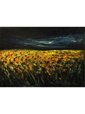 Sunflower Field by Claudio Palmieri -  Contemporary Artwork