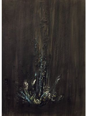 Black Waterfall by Claudio Palmieri - Contemporary Artwork
