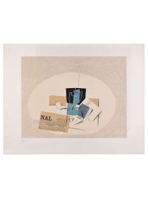 Derrière le miroir by Georges Braque - Contemporary Artwork