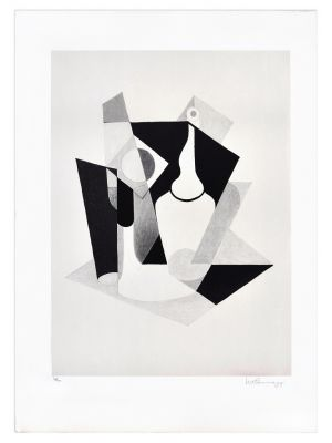Still Life by Ivo Pannaggi - Contemporary Artwork