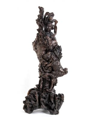 Big Guanyin - Qing Dynasty China - Decorative Objects