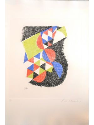 Untitled - Six Planches by Sonia Delaunay - Contemporary Artwork