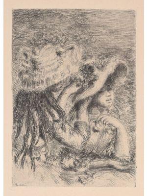 Le Chapeau épinglé by Pierre-Auguste Renoir - Modern Artwork