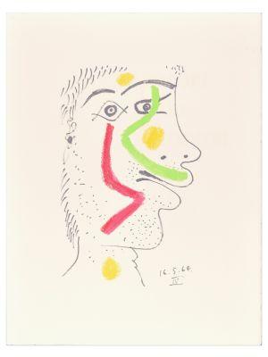 Le goût du Bonheur - 16.5.64 IV by Pablo Picasso - Contemporary Artwork