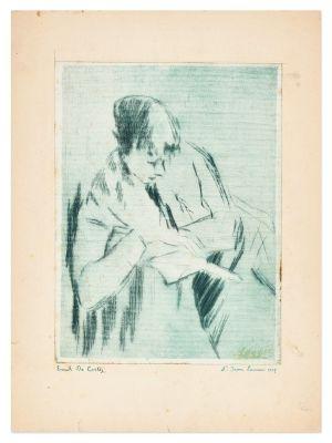The Reader - Modern Artwork