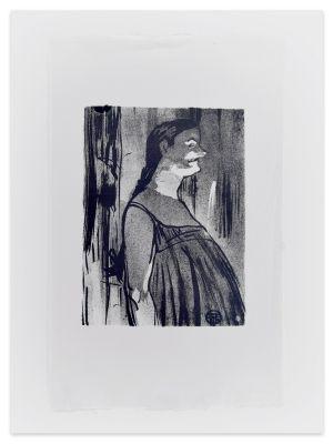 Madame Abdala - From Le Café Concert by Henri de Toulouse-Lautrec - Modern Artwork