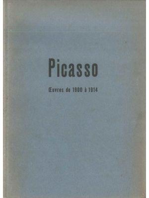 Picasso. Oeuvres des musées de Léningrad et de Moscou et de quelques collections parisiennes by Pablo Picasso - Contemporary Rare Book