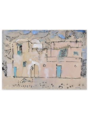 Town by Enrico Paolucci - Contemporary artwork