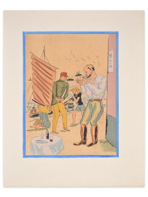 Propos d'un intoxiqué vy Leonard Tsuguharu Foujita - Modern Artwork
