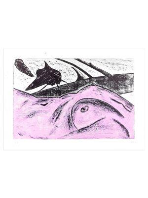 Pink Nude by Nino Terziari - Contemporary Artwork