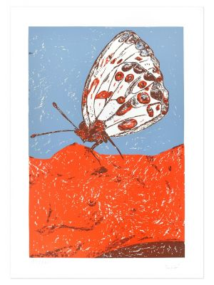 Butterfly by Nino Terziari - Contemporary Artwork