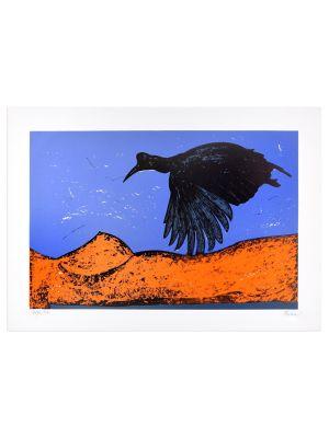 Black Bird by Nino Terziari - Contemporary Artwork