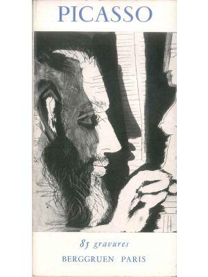 Picasso. 85 gravures by Pablo Picasso - Contemporary Rare Book