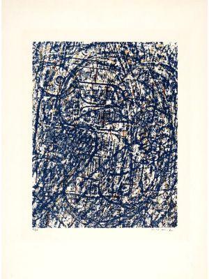 La Foret Blueu by Max Ernst - Contemporary artwork