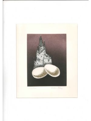 Une Cathedrale by Man Ray -  Contemporary artwork