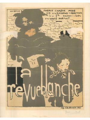 La Revue Blanche by Pierre Bonnard - Modern Artwork
