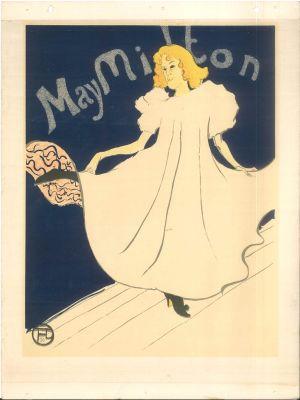May Milton by Henri de Toulouse Lautrec - Modern Artwork