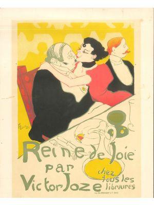 Reine de Joie by Henri de Toulouse Lautrec - Modern Artwork