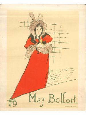 May Belfort by Toulouse Lautrec - Modern Artwork
